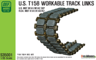 T158 Workable Track set (for 1/35 M1 Abrams) - Image 1