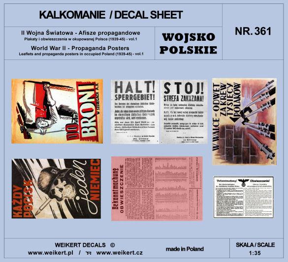 Afisze Propagandowe Plakaty I Obwieszczenia W Okupowanej Polsce 1939 45 Vol1