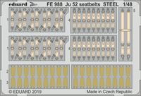 Ju 52 seatbelts STEEL REVELL - Image 1