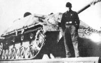 Jagdpanzer IV Upper Hull with concrete armor