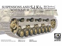 Suspensions and Wheels for Nashorn and Hummel (Sd.Kfz 164-165)