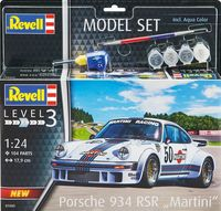 "Porsche 934 RSR ""Martini"" Model Set - Image 1"