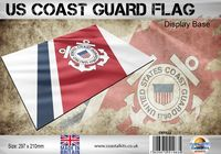 US Coast Guard Flag 297 x 210mm - Image 1