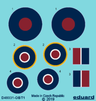 Tempest roundels early  EDUARD - Image 1