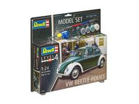 VW Beetle Police Model Set