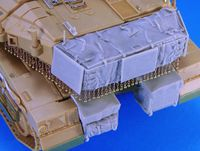 Merkava Mk.4Turret/Hull Basket set (for Academy) - Image 1