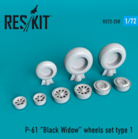 P-61 Black Widow wheels set - Image 1