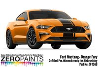 1568 Ford Mustang 2019 - Orange Fury - Image 1