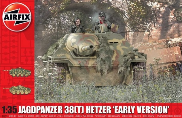 Jagdpanzer 38(t) Hetzer Early Version - Image 1