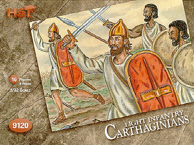 Hannibals Carthaginians - Light Infantry - Image 1