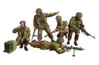 WWII British Paratroops In Combat Set B - Image 1