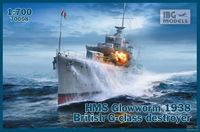 HMS Glowworm 1938 British G-class Destroyer