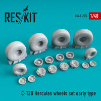 C-130 Hercules wheels set early type - Image 1