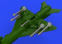 R-13M missiles w/ pylons for MiG-21 - Image 1
