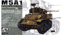 M5A1 Stuart Light Tank Early Production
