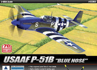 USAAF P-51B [Blue Nose]