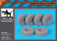 Australian Land Rover wheels accessories set - Image 1