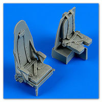 Mosquito Mk. IV seats with safety belts seat TAMIYA