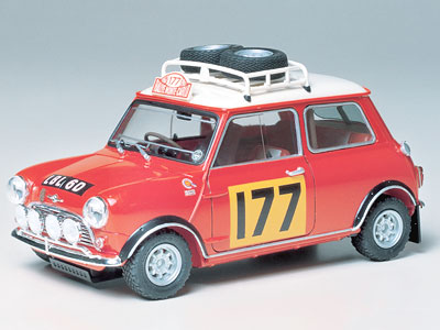 morris mini cooper 1275s rally model do sklejania tamiya 24048. Black Bedroom Furniture Sets. Home Design Ideas