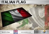 Italian Flag 297 x 210mm - Image 1