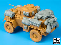 British Humber Mk III accessories set for Bronco models - Image 1