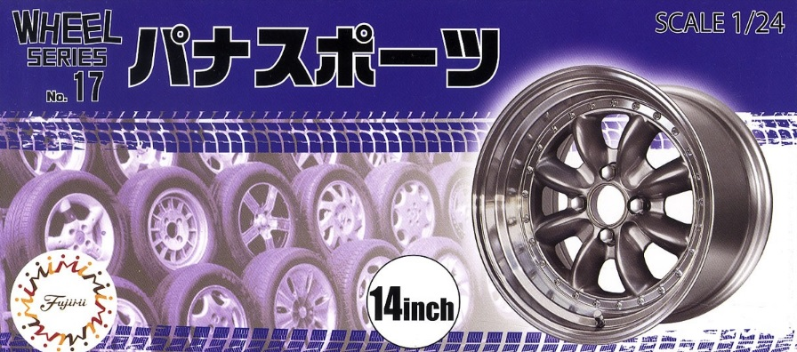Wheel Series No.17 Pana Sport 14-inch - Image 1