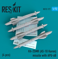 Kh-25MR (AS-10 Karen) missile  with APU-68  (4 pcs)  (MiG-23, MiG-27, Su-17, Su-24, Su-25)