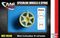 Speedline wheels 6 spoke 5 screw - Image 1