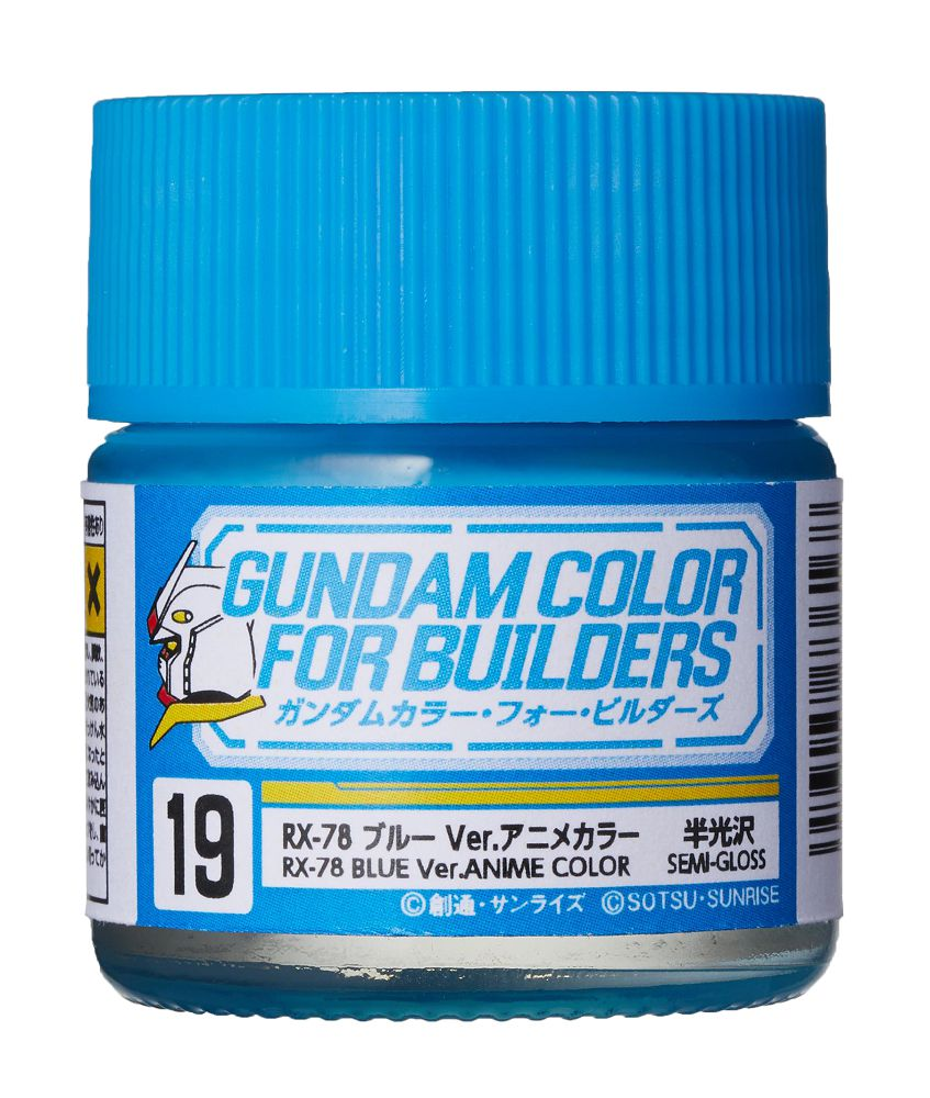 UG19 RX-78 Blue Ver. ANIME COLOR (Semi-Gloss) - Image 1
