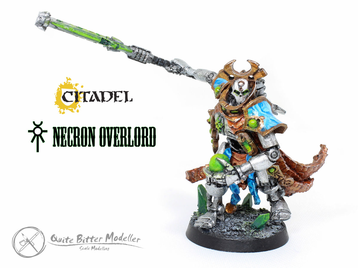 Necron Overlord (Citadel) - 001 - Image 1