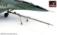Mikoyan MiG-29 Fulcrum - airfield tow bar