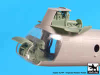 Ch-46 D Front engine + cockpit for Hooby Boss - Image 1