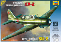 Su-2 Soviet light bomber