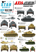Axis Tank mix # 2. Romanian tanks in WW2, Pz III Ausf N, Pz IV Ausf G / H / J, and R-35.