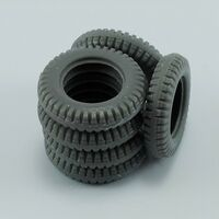 Spare tires for Volkswagen Type 82E for tamiya - Image 1