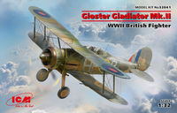 Gloster Gladiator Mk.II WWII British Fighter