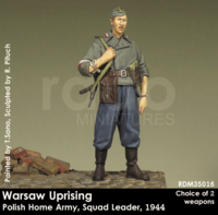 Warsaw Uprising Polish Home Army,Squad Leader, 1944