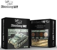 EUROPEAN LANDS PIGMENTS SET