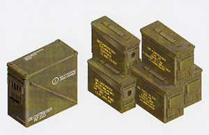 30 and 50 Caliber Ammo Boxes - Image 1