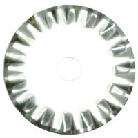 "Wave Type Rotary Blades 1"" - 2 pcs."
