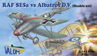 RAF SE.5a vs. Albatros D.V (Dual Combo with 2 of each kits)
