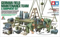 German Field Maintenance Team & Equipement Set - Image 1