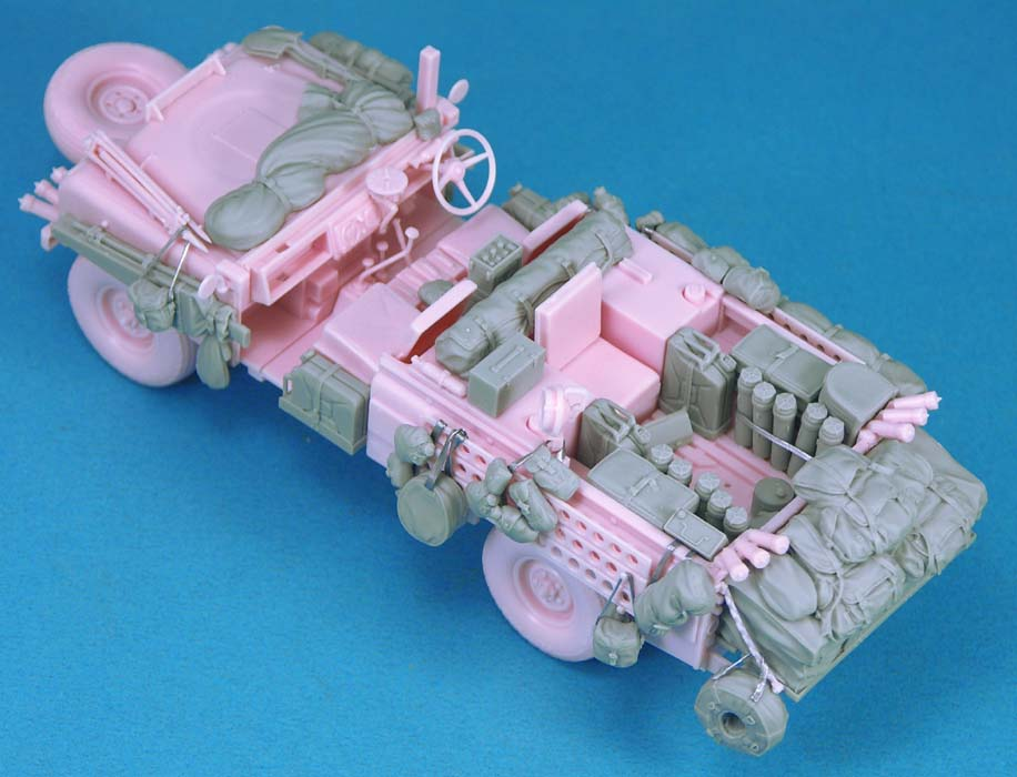 Pink Panther Stowage set (For Tamiya) - Image 1