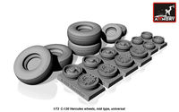 Lockheed C-130 Hercules wheels, mid type