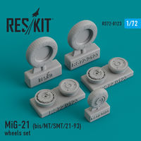 MiG-21 (bis/MT/SMT/21-93) wheels set - Image 1