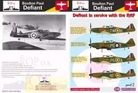 Boulton Paul Defiant - Defiant in service with the RAF