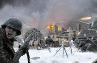 BASTOGNE December 1944 DIORAMA SET