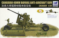 Canadian 40mm Bofors Anti-Aircraft Gun