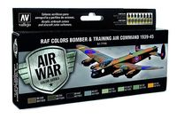 71145 Air War Color Series - RAF Colors Bomber & Training Air Command 1939-45 Set