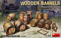 Wooden Barrels Medium Size - Image 1